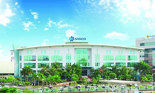 Trụ sở chính của Sasco tại quận Tân Bình, TP HCM