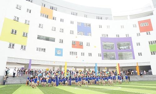 Trường Wellspring Saigon khai giảng năm học 2014-2015