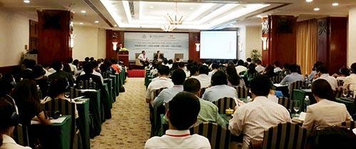 Techcombank cung cấp giải pháp an toàn giá cho doanh nghiệp ngành thép. Trong ảnh: Quang cảnh hội thảo thị trường thép  Đông Nam Á