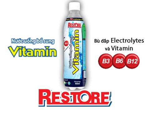 Nước uống bổ sung Vitamin Restore