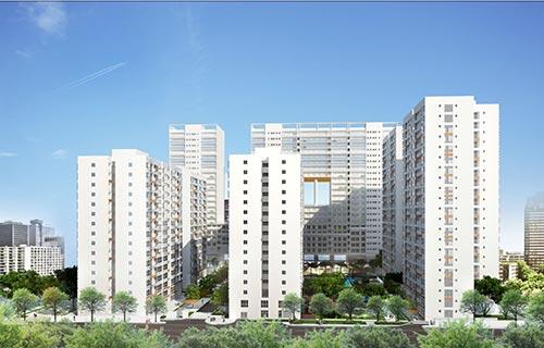 Scenic Valley được chủ đầu tư chào bán vào ngày 4-10 có mức giá dễ mua, từ 2 tỉ đồng/căn dành cho những căn hộ từ 70 m2