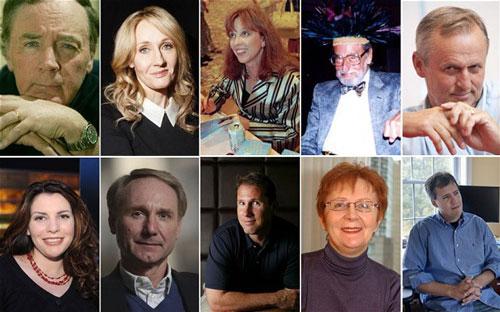 10 nhà văn có tác phẩm bán chạy nhất thế giới trong hơn một thập kỷ qua  Nguồn: TELEGRAPH