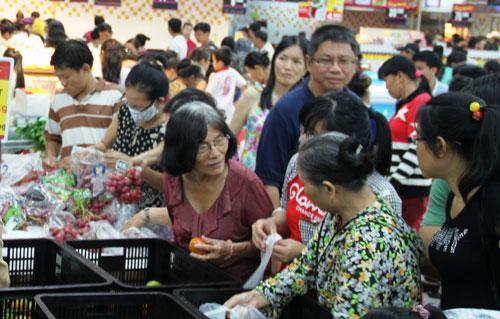 Big C Nha Trang đã trở thành điểm mua sắm yêu thích của người dân trong tỉnh và du khách đến TP Nha Trang