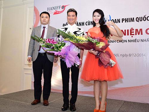 Đàm Vĩnh Hưng và Ngọc Thanh Tâm nhân kỷ niệm chương Phim được khán giả bình chọn nhiều nhất