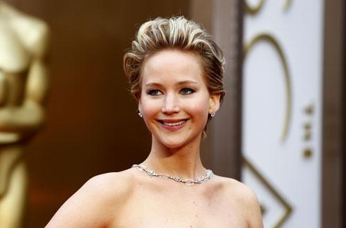 Nữ diễn viên Jennifer Lawrence, nạn nhân bị xâm hại nhiều nhất của vụ lộ ảnh nóng lùm xùm Hollywood hơn 1 tháng qua Nguồn: REUTERS