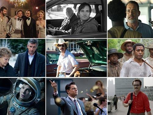 Sáu trên 9 phim được đề cử Oscar 2014 đều dựa trên những câu chuyện có thật Nguồn: TELEGRAPH