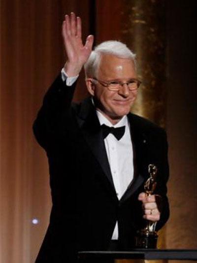 Steve Martin nhận giải Oscar Danh dự năm 2013 Nguồn: REUTERS