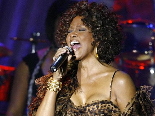 Whitney Houston biểu diễn máu lửa khi ở đỉnh cao sự nghiệp Nguồn: REUTERS