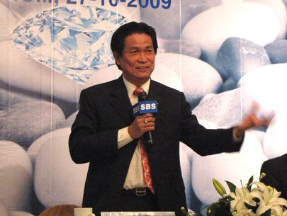Ông Đặng Văn Thành khi còn là Chủ tịch Sacombank.