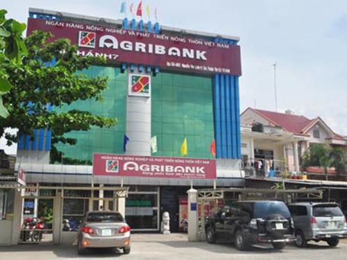 Trụ sở của Ngân hàng Agribank Chi nhánh 7 tại phường Tân Thuận Tây, quận 7, TP HCM - Ảnh: CAND