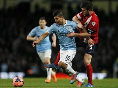 Sergio Aguero trở lại và ghi bàn