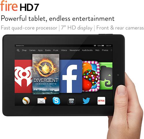 Amazon tung bộ đôi tablet Fire HD giá rẻ