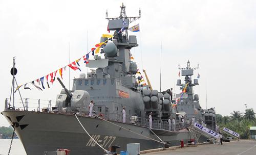 Thêm 2 tàu pháo-tên lửa hiện đại HQ-377 và HQ-378 trang bị cho Hải quân