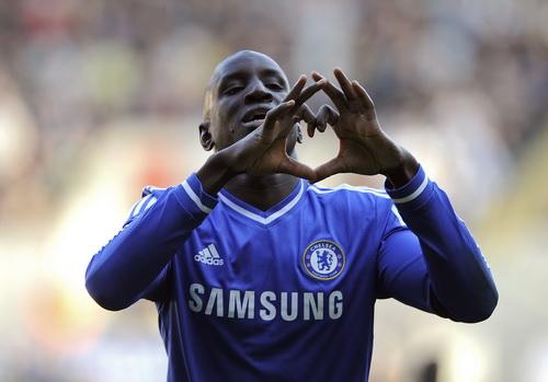 Demba Ba hạnh phúc sau bàn thắng mở tỉ số phút 67