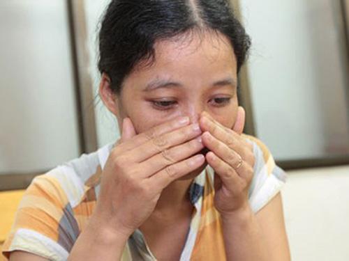 Bà Phan Thị Oanh, người tố cáo vụ nhân bản kết quả xét nghiệm, đã được đình chỉ điều tra