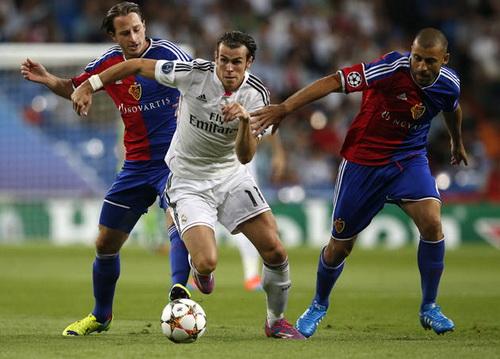 Gareth Bale ghi bàn thắng thứ nhì cho Real Madrid