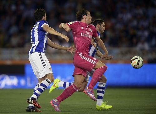 Gareth Bale có pha lập công nâng tỉ số thành 2-0 cho Real Madrid