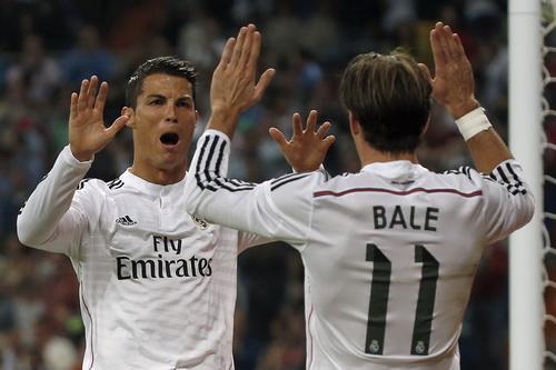 Gareth Bale kiến tạo 9 đường chuyền trong 17 bàn thắng của Ronaldo