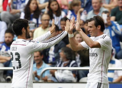 Gareth Bale góp công bằng một cú đúp