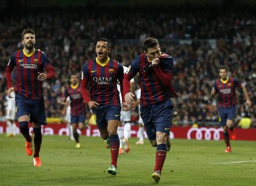 Niềm vui chiến thắng Barcelona