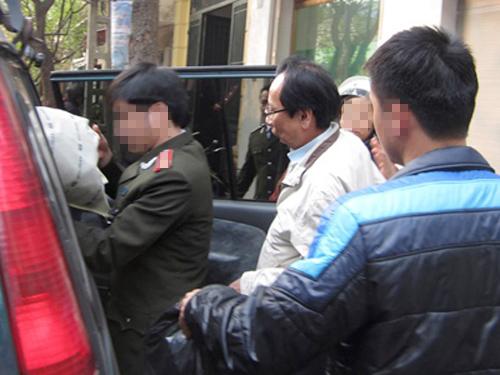 Cơ quan an ninh điều tra thực hiện lệnh bắt ông Hồ Văn Hải, nguyên giám đốc Halico