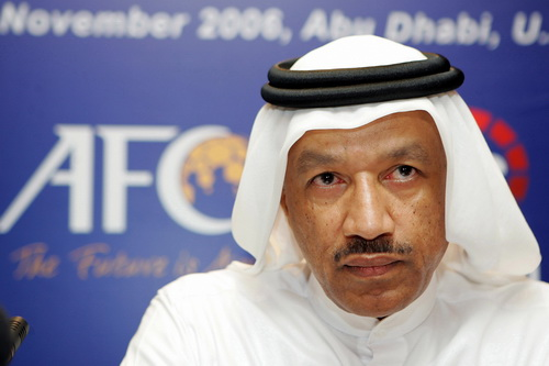 Hoàng thân Bin Hammam khi còn là chủ tịch LĐBĐ châu Á