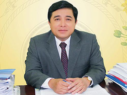 Ông Nguyễn Chí Dũng khi làm Bí thư Tỉnh ủy Ninh Thuận - Ảnh: Báo Ninh Thuận