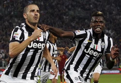 Bonucci ghi bàn quyết định cho Juventus