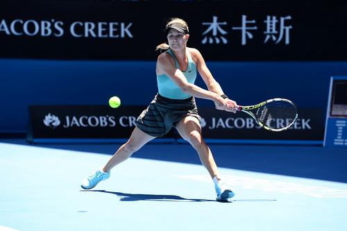 Eugenie Bouchard có một giải đấu thành công ở tuổi 19