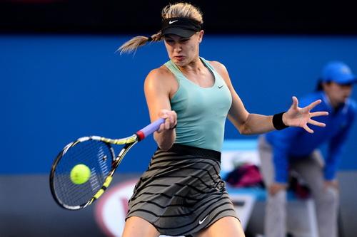 Eugenie Bouchard lần đầu vào tứ kết một giải Grand Slam