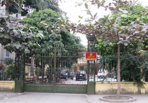 Trụ sở Công an huyện Thanh Hà, nơi xảy ra sự việc