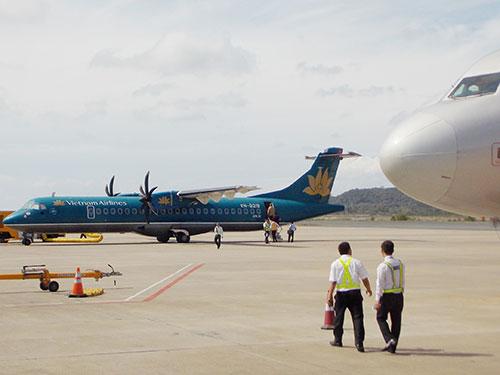 Sân bay Phú Quốc, nơi xảy ra sự cố phi công lái máy bay nhầm đường lăn