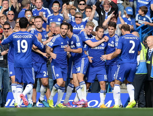 Niềm vui chiến thắng quen thuộc của Chelsea