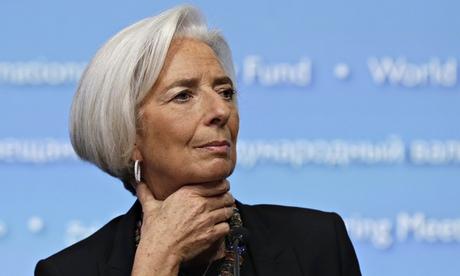Christine Lagarde, Người điều hành Quỹ Tiền tệ Quốc tế (IMF). Ảnh: Reuters