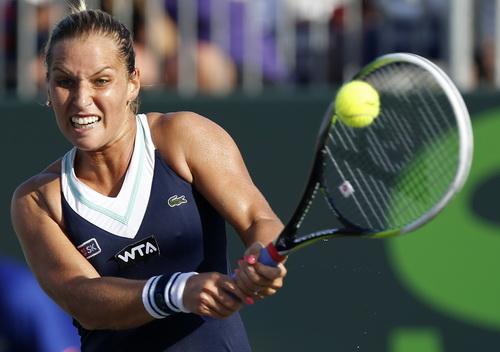 Dominika Cibulkova dừng chân sớm ở Madrid Open