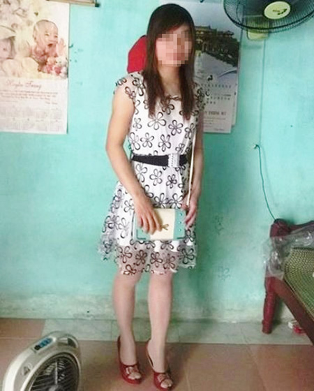 Nạn nhân Thái Thị Mai trước lúc bị mất tích bí ẩn