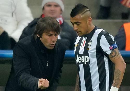 Vidal bị bán khiến Conte không khỏi thất vọng, quyết định chia tay Juve