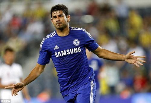 Diego Costa lập công bằng bàn thắng đẹp mắt