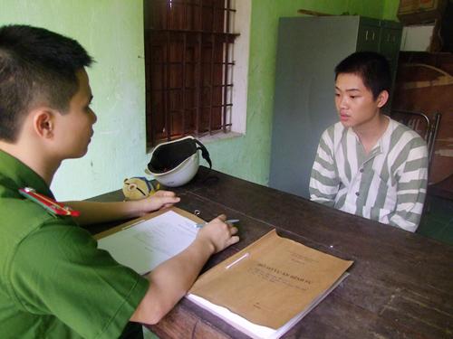 Nghi can Tuấn bị bắt giữ sau vụ cướp tại cơ quan công an