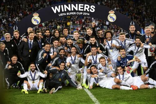 Danh hiệu vô địch Siêu cúp châu Âu 2014 của Real Madrid