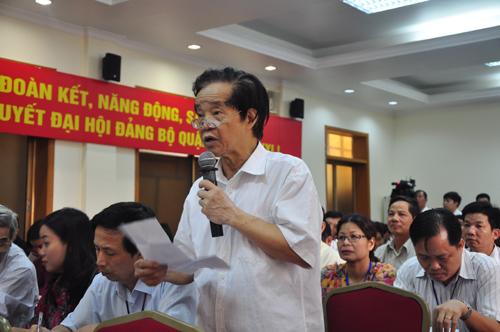 Cử tri Đặng Hữu Chất bày tỏ sự đồng tình với Đảng, Nhà nước và Chính phủ trong việc cương quyết bảo vệ độc lập, chủ quyền