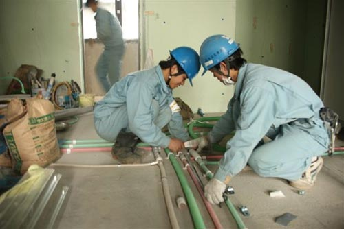 Lao động Việt Nam làm việc tại Đài Loan