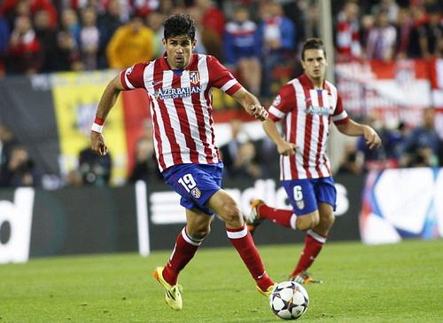 Diego Costa sắp sửa trở thành thành viên của Chelsea
