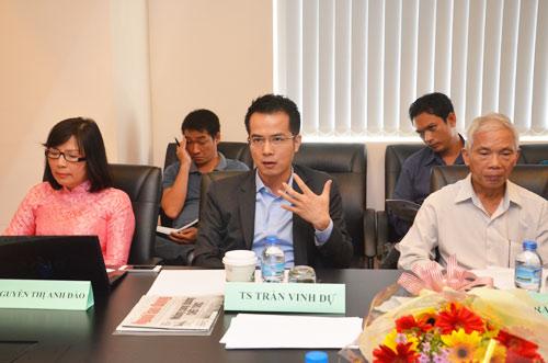 TS Trần Vinh Dự - Tổng Giám đốc TNK Capital, Chủ HĐQT Trường CĐ Việt Mỹ