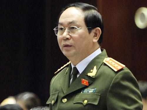 Bộ trưởng Trần Đại Quang dẫn đầu đoàn đại biểu cấp cao Bộ Công an thăm Trung Quốc