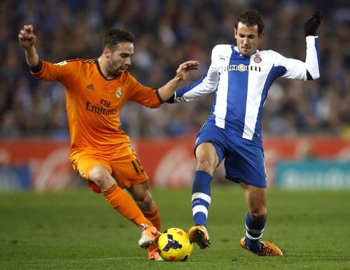 Carvajal đối đầu cùng Stuani