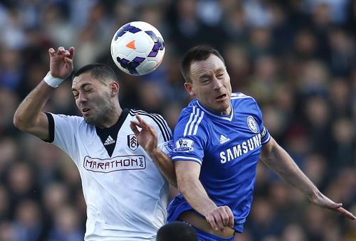 Chelsea đối đầu vất vả với Fulham ở hiệp đầu