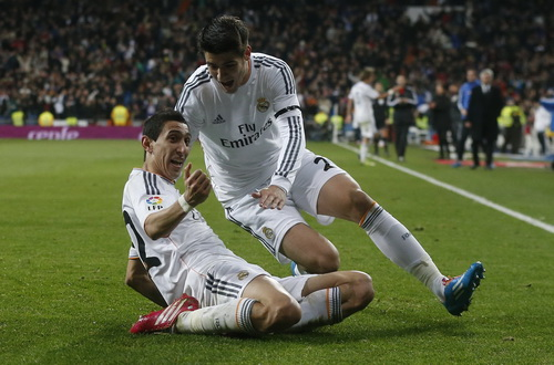 Di Maria đóng góp nhiều công sức ở Real Madrid
