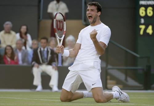 Grigor Dimitrov chờ kỳ tích ở Wimbledon