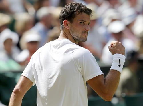 Dimitrov thi đấu ấn tượng tại Wimbledon, lần đầu vào bán kết